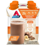 Atkins US Ready to Drink Shakes - Chocolate Banana Set of 4 NEW