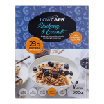 CarbZone LowCarb Granola Blueberry and Coconut 500g Box