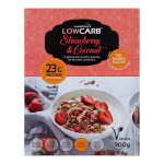 CarbZone LowCarb Granola Strawberry and Coconut 500g Box SALE Best before 30 January 2019 BENT BOXES